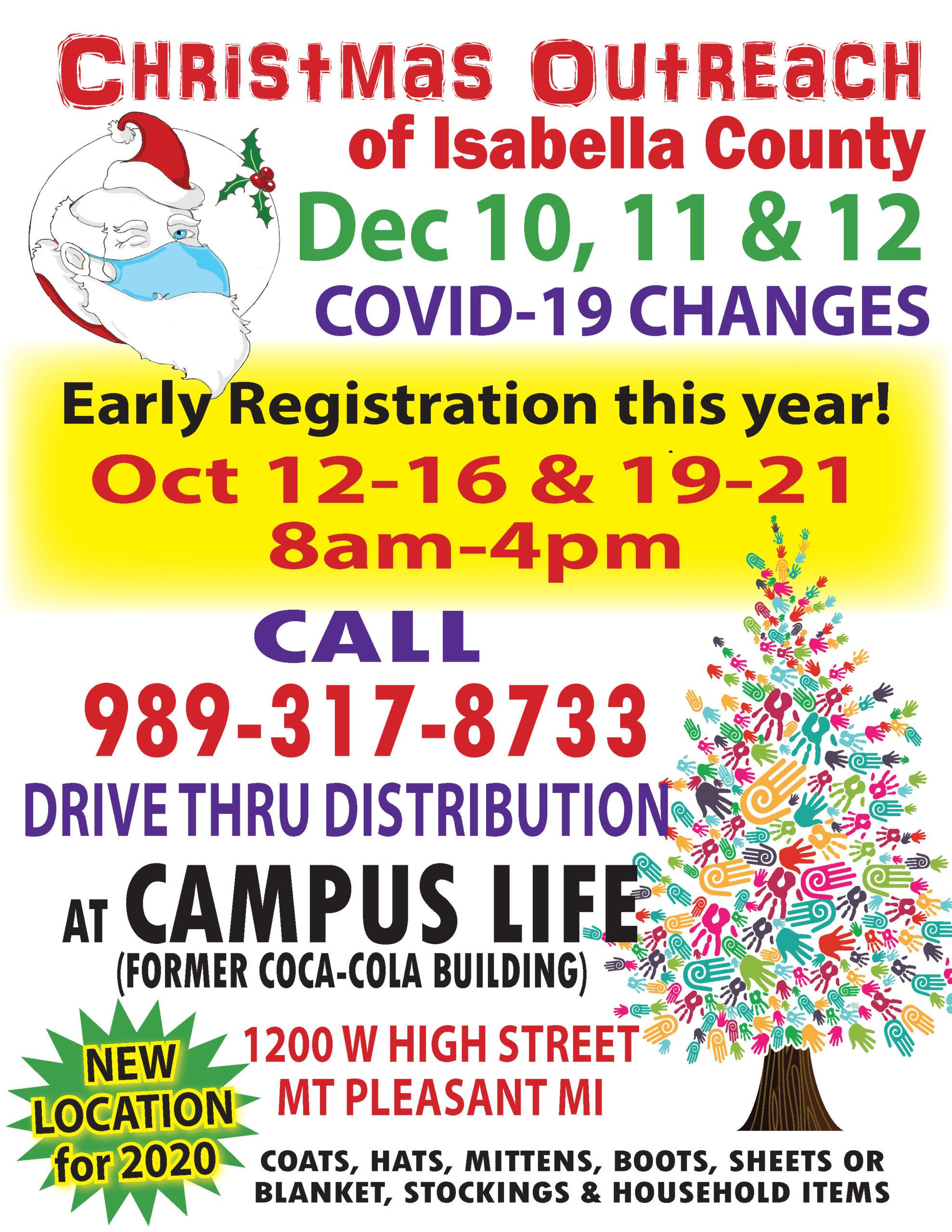 Christmas Outreach 8.5 x11 CALL IN FLYER 2020